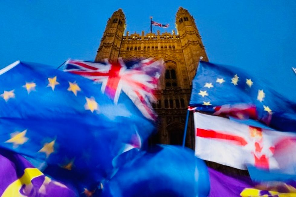 British MPs give initial approval to Johnson's Brexit plan