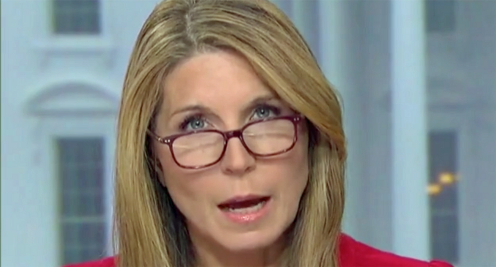 'Guy is bananas': Trump leveled by MSNBC's Nicolle Wallace for melting down over Pelosi's Fox News appearance