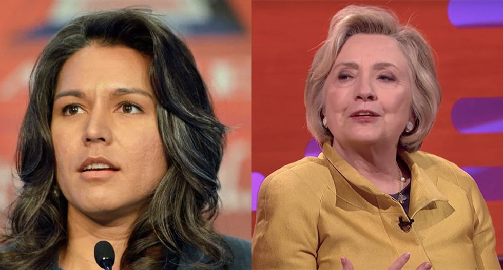 New York Times changes story admitting they misquoted Clinton saying 'Russians' were 'grooming' Tulsi Gabbard