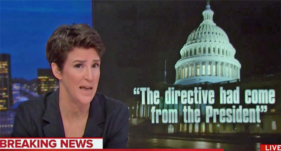 Maddow says 'everyone involved' in Giuliani scheme will be drinking 'prison wine made from toilet water'