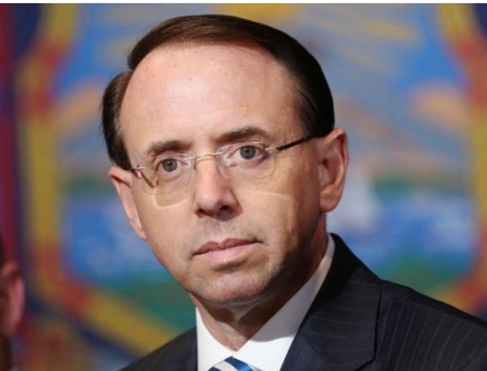 Only one in five adults want Rod Rosenstein to leave: Reuters/Ipsos poll