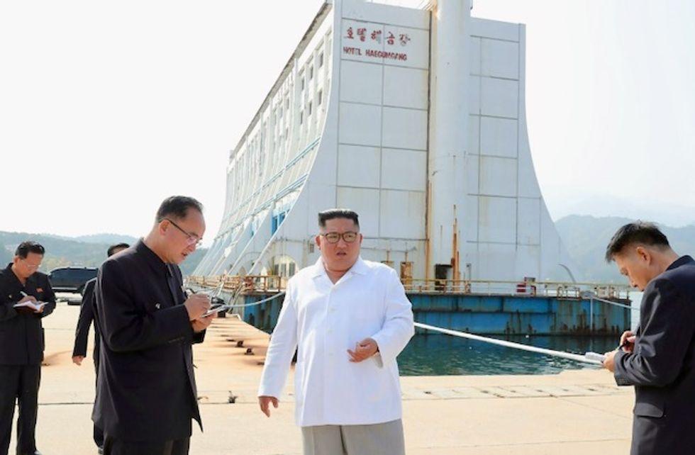 North Korea's Kim orders demolitions at South-built resort