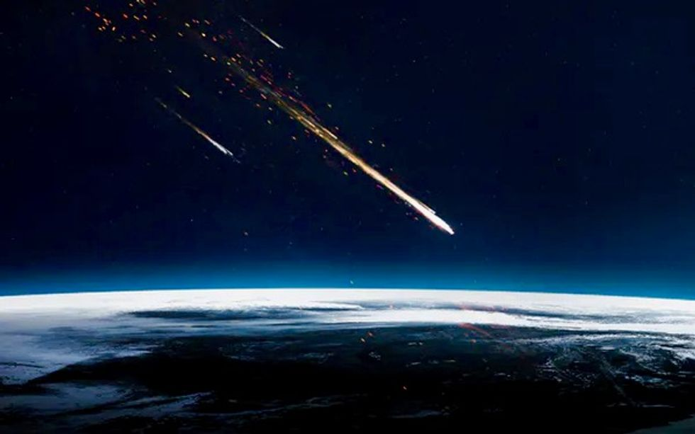 New evidence that an extraterrestrial collision 12,800 years ago triggered an abrupt climate change for Earth