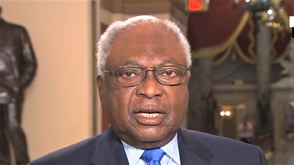 Jim Clyburn destroys Trump's plan to send law enforcement to polling sites with a brutal fact check