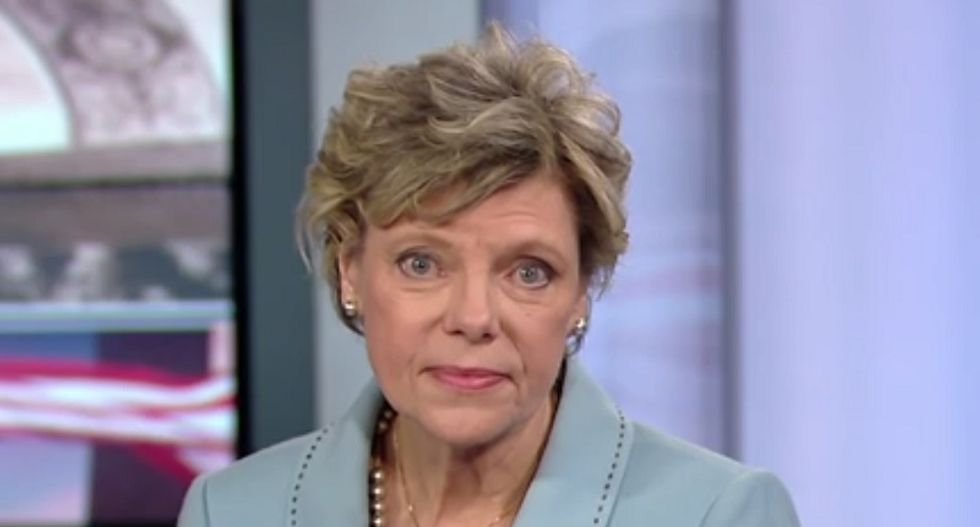 WATCH: Trump whines about 'nasty' questions as he's annihilated on air by NPR's Cokie Roberts