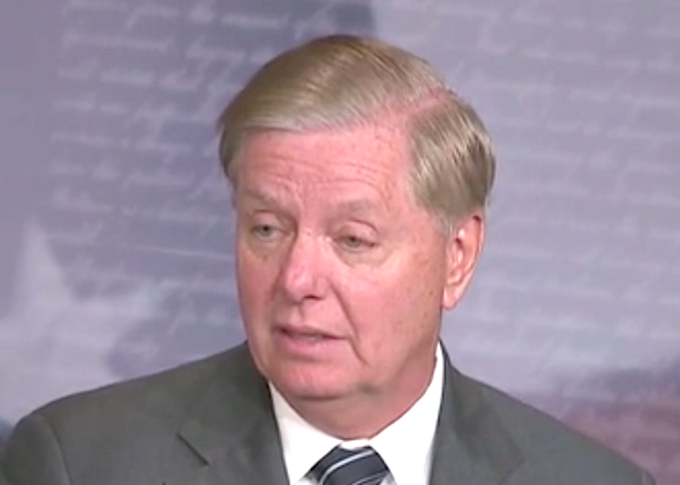 Reporter nails Lindsey Graham: You were a prosecutor – would you have allowed a witness to speak in public?