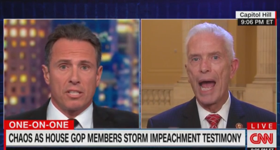 CNN's Cuomo obliterates GOP congressman who raided SCIF in impeachment hearing