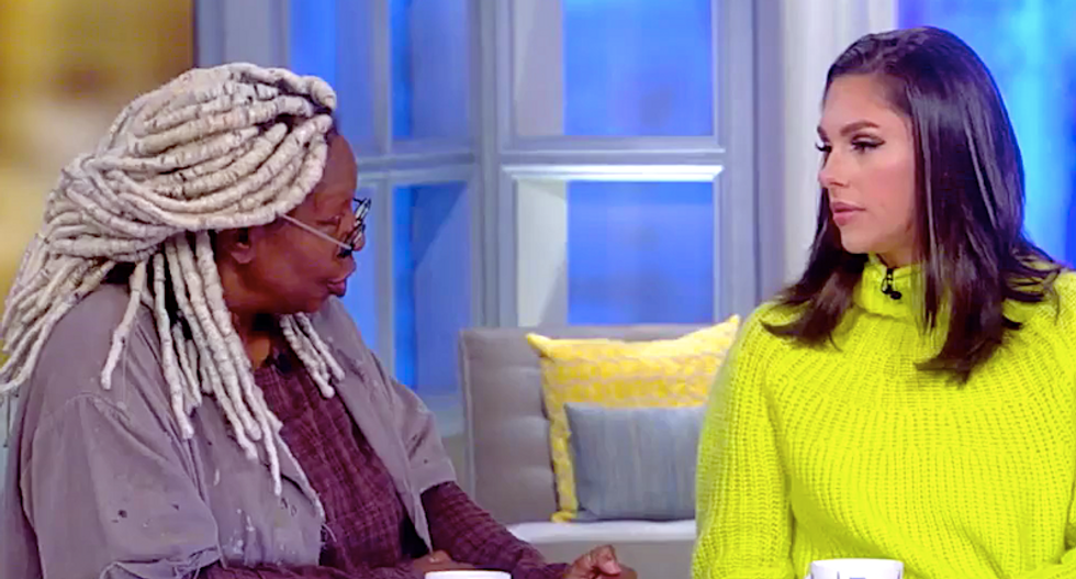 'You know better!' Whoopi Goldberg schools The View's Abby Huntsman for trusting GOP conspiracies about Adam Schiff