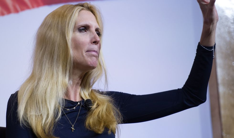 A really white Christmas: Ann Coulter attended racist white nationalist group VDARE's Xmas gala