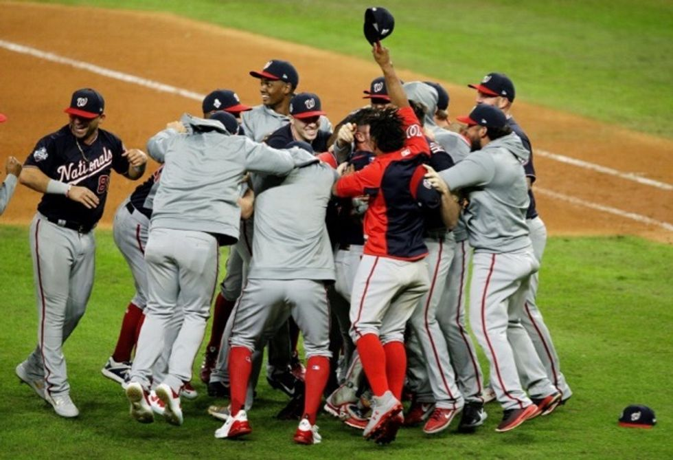 Nationals rally to beat Astros and capture World Series