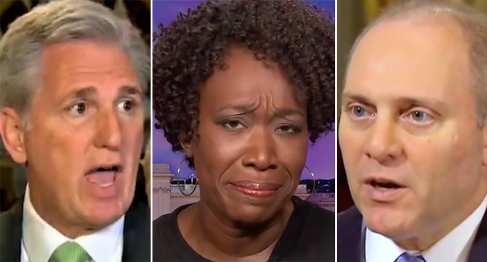 Joy Reid calls for top 2 congressional Republicans to be stripped of positions after plot to overturn the election