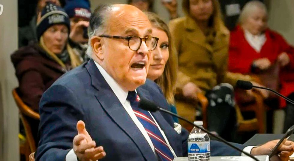 'I'm utterly embarrassed': Michigan Republican admits Rudy Giuliani 'waded into the realm of insanity'