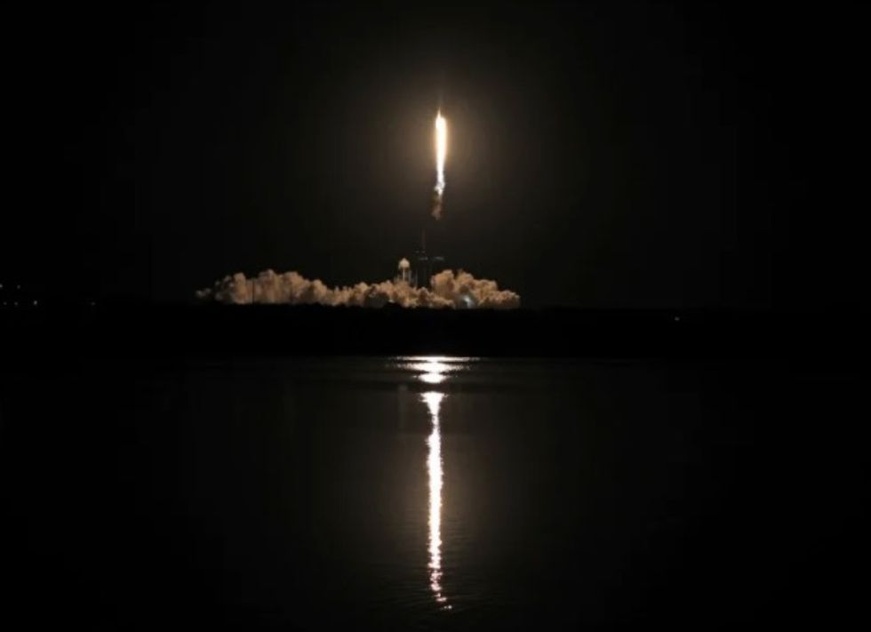 SpaceX launches four astronauts to ISS