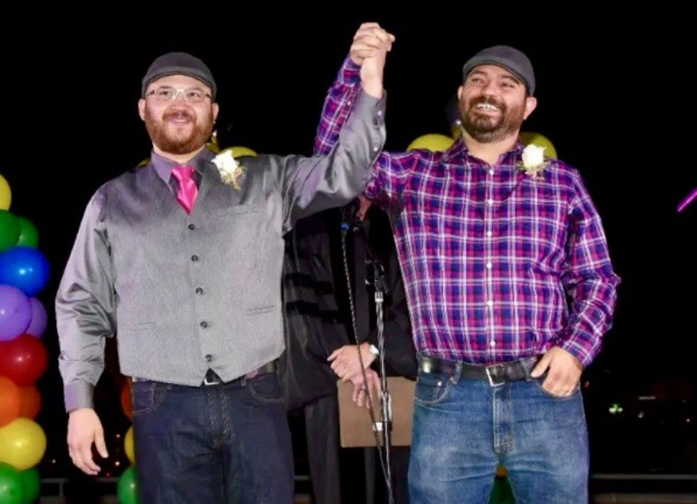 Nevada first US state to recognize gay marriage in its constitution