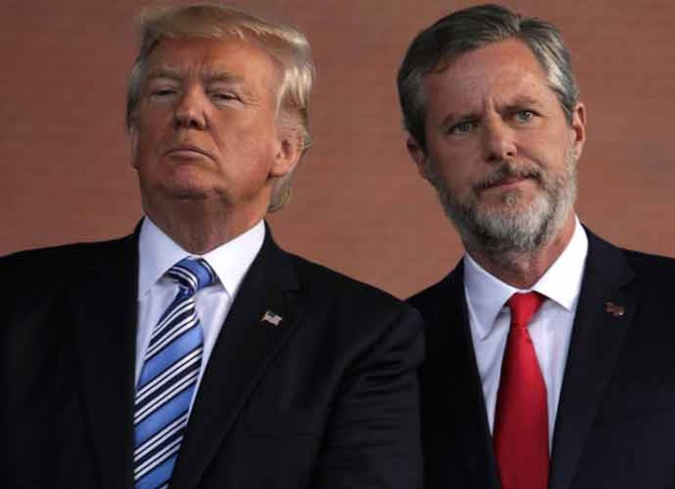 Jerry Falwell Jr. and Wife Becki Falwell ranked Liberty University students they wanted to sleep with: report
