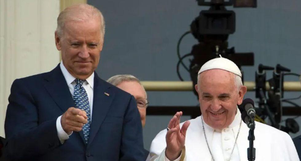 Pope Francis congratulates Joe Biden for 2020 election victory