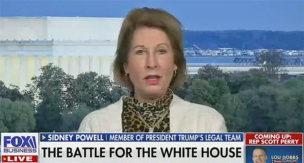 Sidney Powell mocked for epic firing: 'Imagine being axed for craziness' by Giuliani