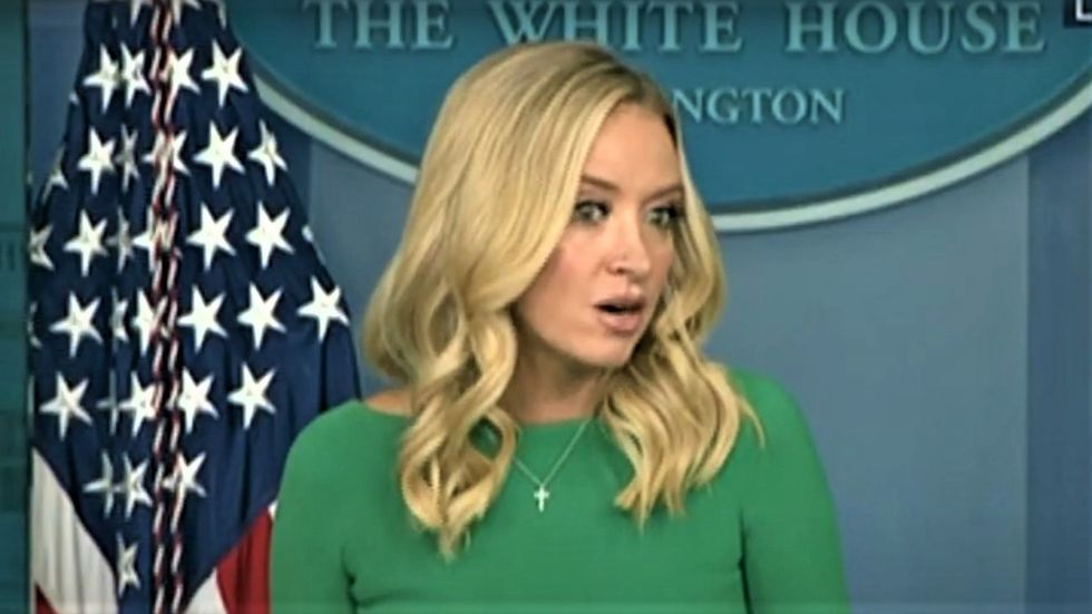 Kayleigh McEnany gets heckled at press briefing: 'When are you going to admit you lost?'