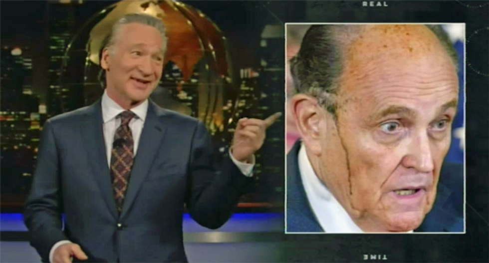 Rudy Giuliani thrashed by Bill Maher on season finale of HBO's 'Real Time'