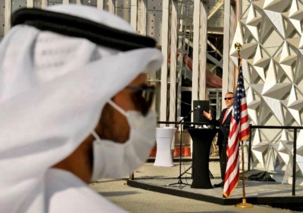 US unveils star-spangled pavilion for Dubai's Expo 2020