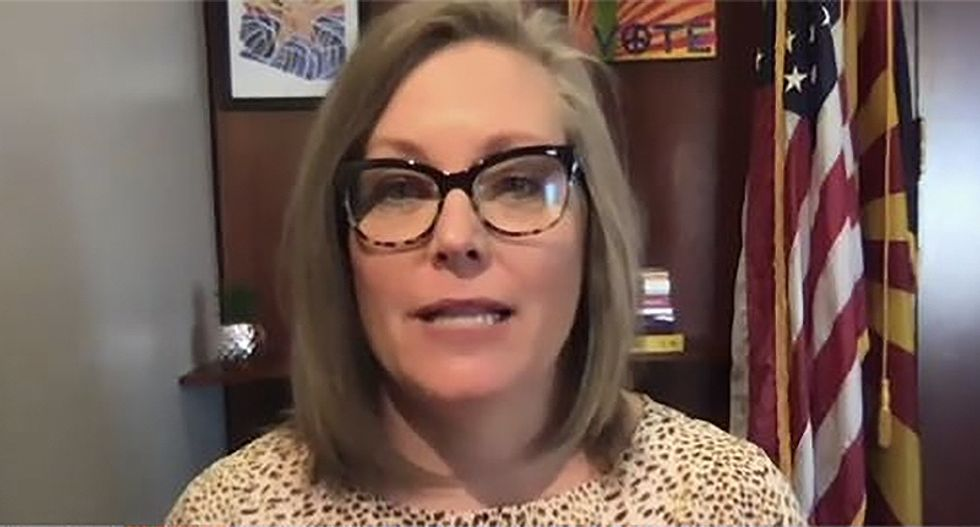 Arizona secretary of state stalked at her home by Trump supporters in 'continued intimidation tactics'
