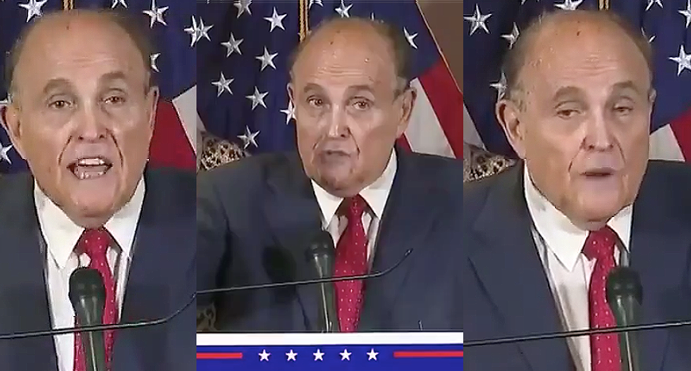 Rudy Giuliani ridiculed for bonkers press conference: 'Not sure Trump got his $20,000 worth'