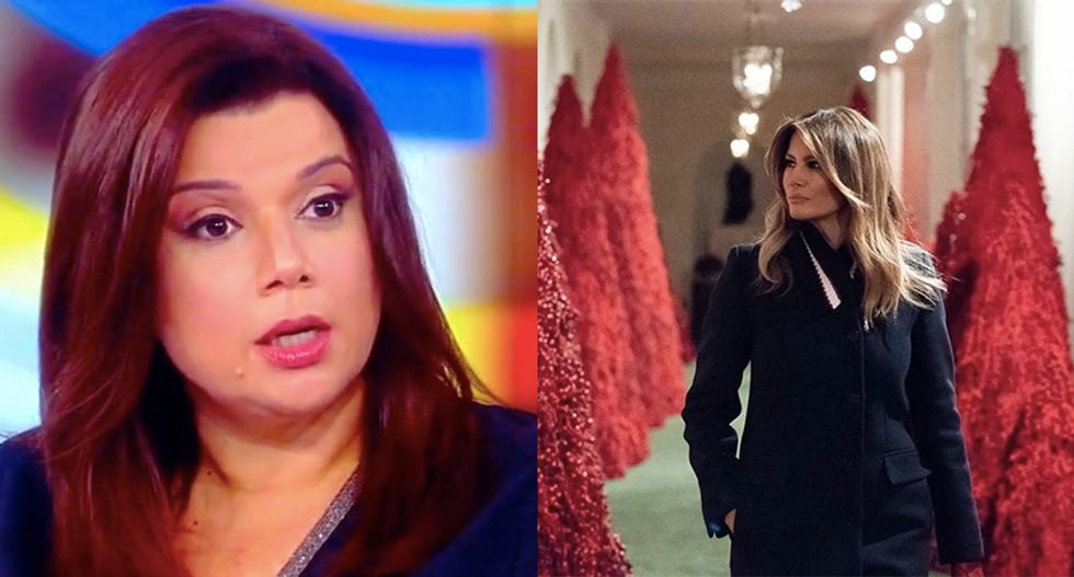 The View hilariously ridicules 'Narnia Ice Queen' Melania Trump for pretending to love Christmas