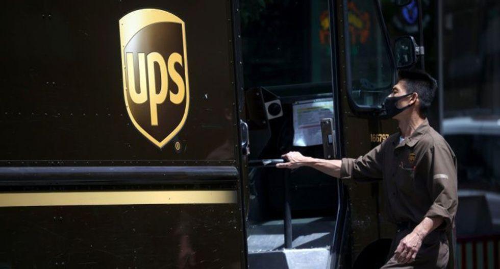 UPS to make dry ice and distribute ultra-cold freezers for coronavirus vaccine distribution