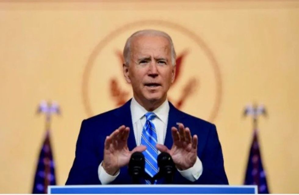 Americans 'won't stand' for election results not being honored: Biden