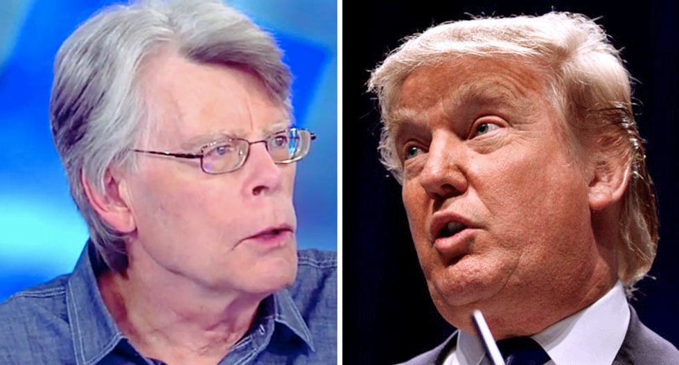 'Scary': Stephen King frightened by Trump 'living in a fantasy world' — while he has the nuclear codes