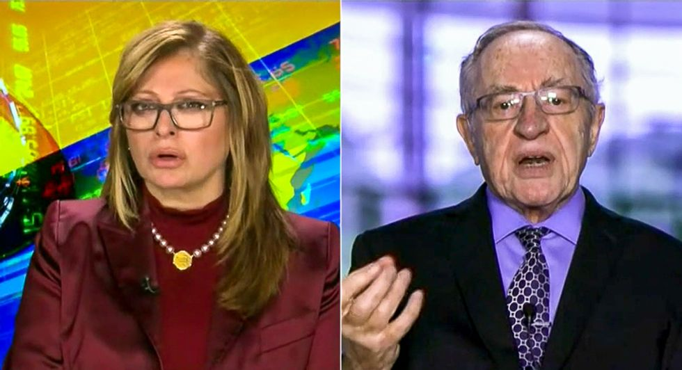 Alan Dershowitz gives bad news to Fox News host: 'The outcome of the election will not be reversed'