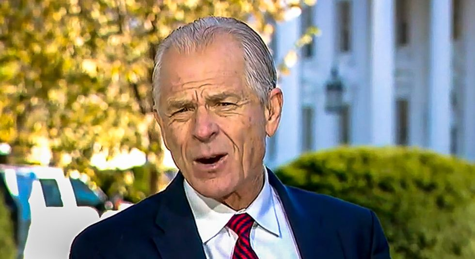 White House adviser Peter Navarro: 'President Trump is going to get a second term'