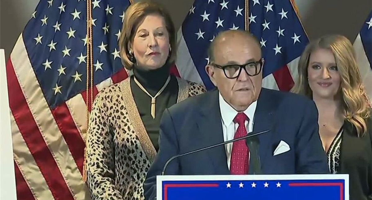 Bombshell Russian intel report seems to implicate Giuliani at the center of a campaign to influence Trump's inner circle