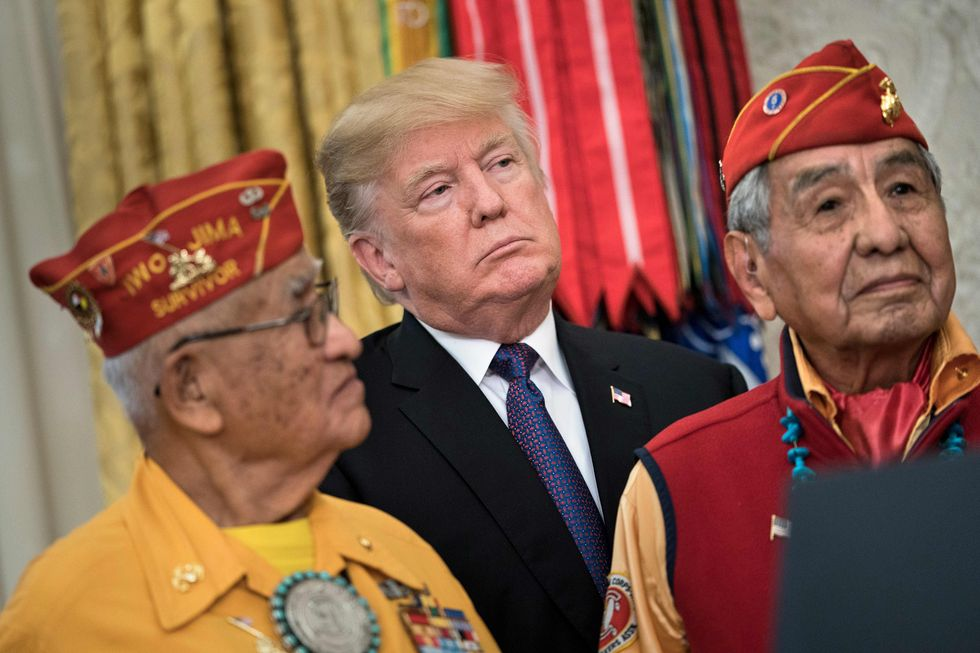 Here's how Native Americans shaped Trump's presidency – and helped bring him down
