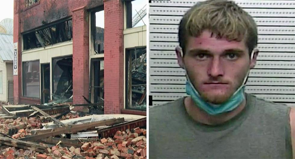 Kentucky Republican's Harlan office burned down by renter in landlord-tenant dispute