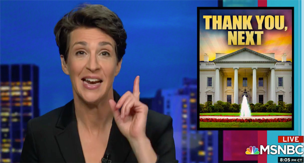 WATCH: Maddow plays hilarious video of Arizona's GOP governor refusing to talk to Trump or Pence