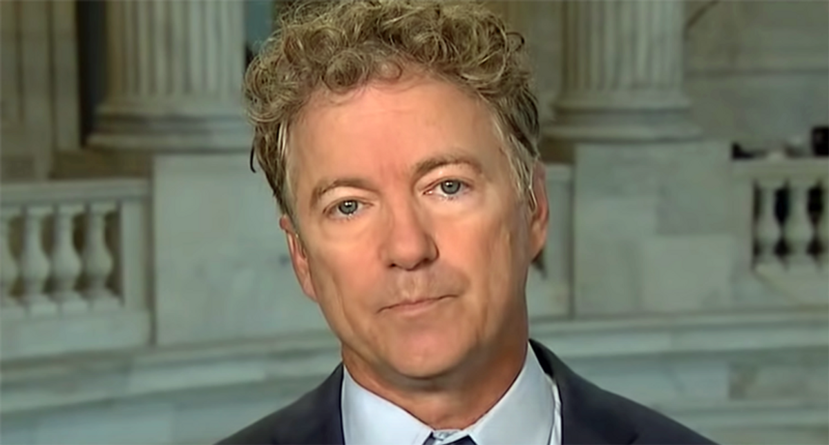 Rand Paul accused of not giving Officer Goodman a standing ovation -- but video shows he did