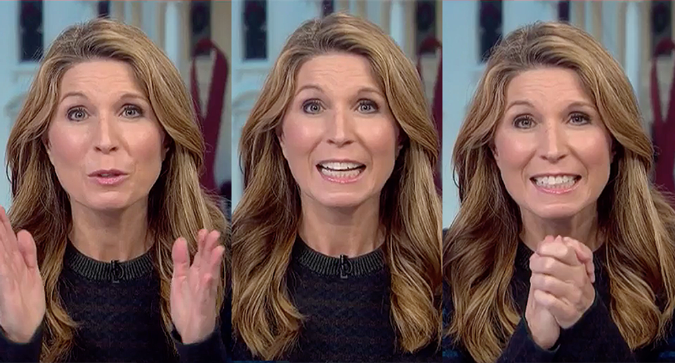 Nicolle Wallace shouts about Trump: 'He's a grifter taking your money! Stealing from his supporters!'