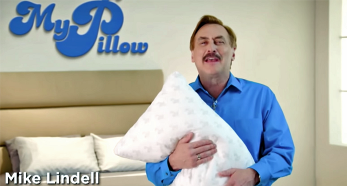 'We can all sleep better': Critics celebrate permanent Twitter ban of MyPillow CEO Mike Lindell