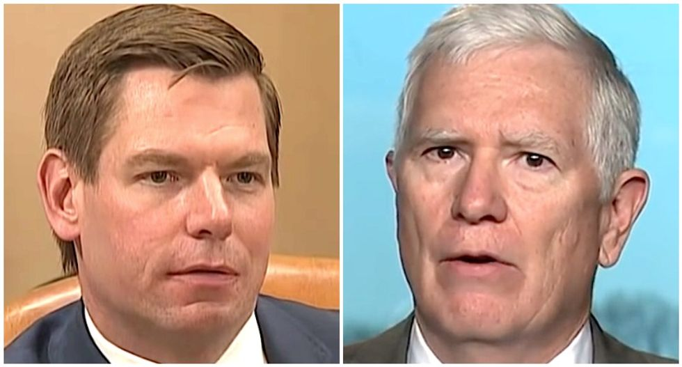 Swalwell fires back at GOP Rep who wants to challenge Electoral College: 'So the election you won was fraudulent?'