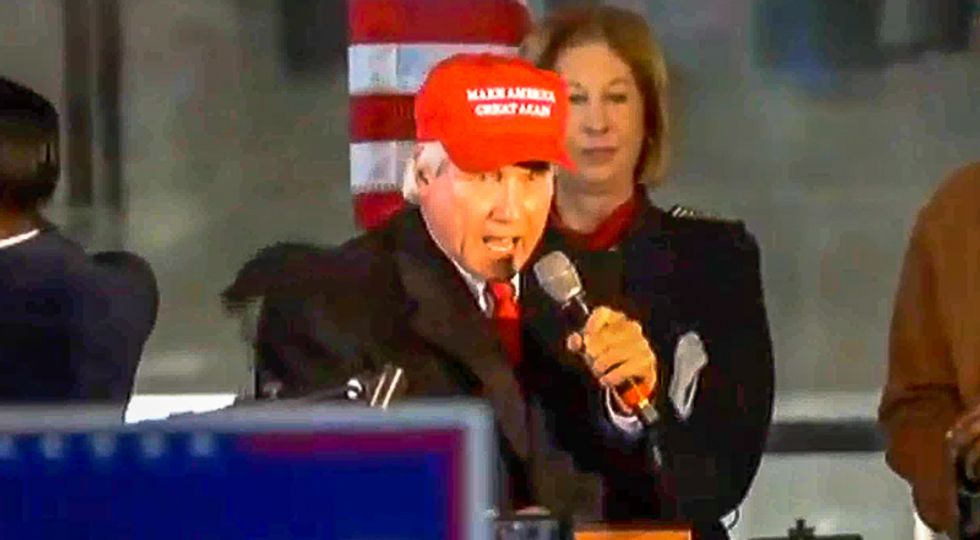 'Lock him up!' Trump attorney Lin Wood incites crowd to target Gov. Brian Kemp at 'Stop the Steal' rally