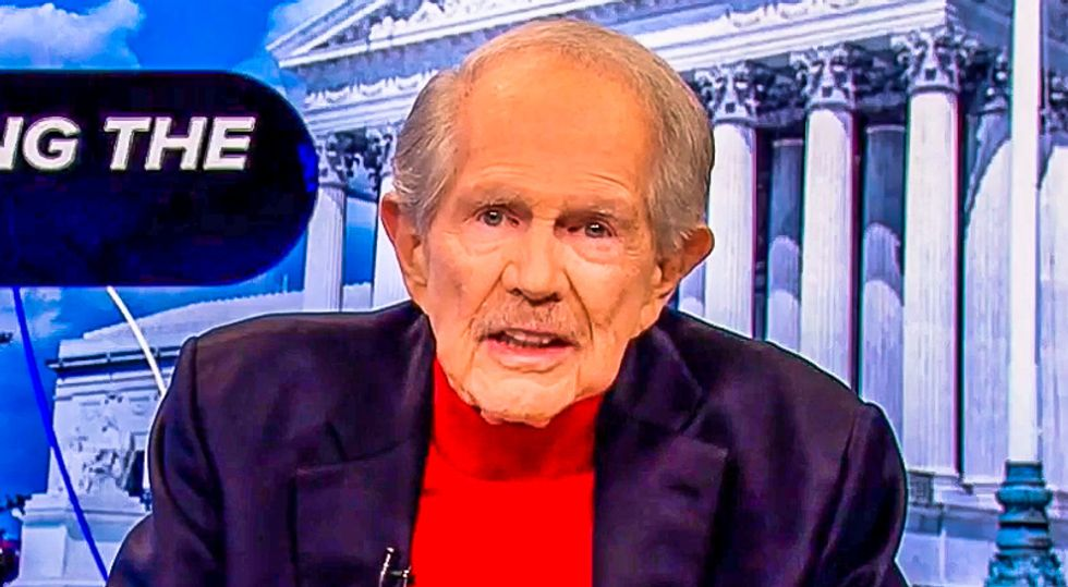 'There is a miracle taking place': Pat Robertson claims Texas lawsuit is God intervening in 'stolen' election