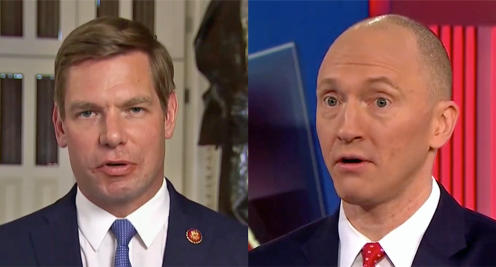 Former FBI agent explains how Eric Swalwell did the right things -- while Carter Page didn't