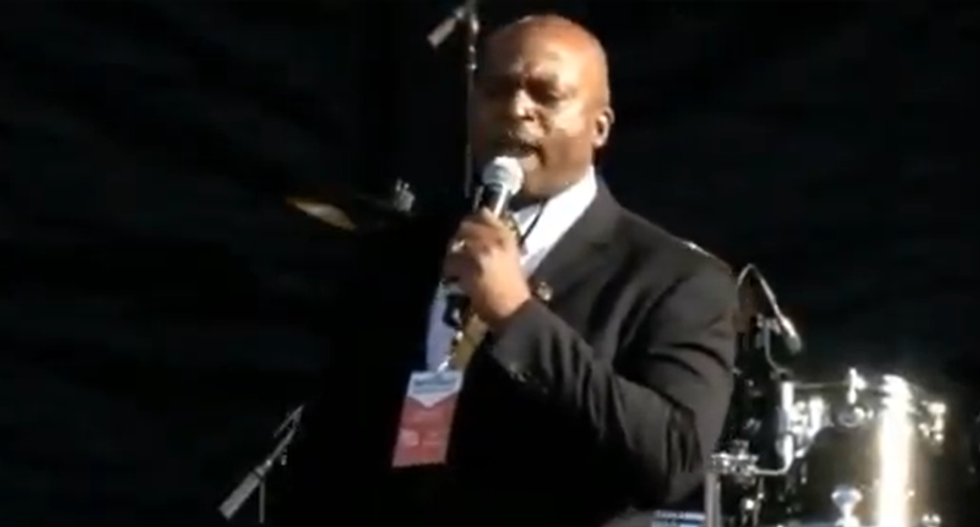 'We will kill them now!' Pro-Trump pastor goes on bonkers rant about 'witches' at DC rally