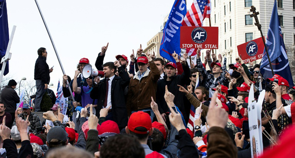 Trump supporters reject the reality he lost the election and march on Washington, DC