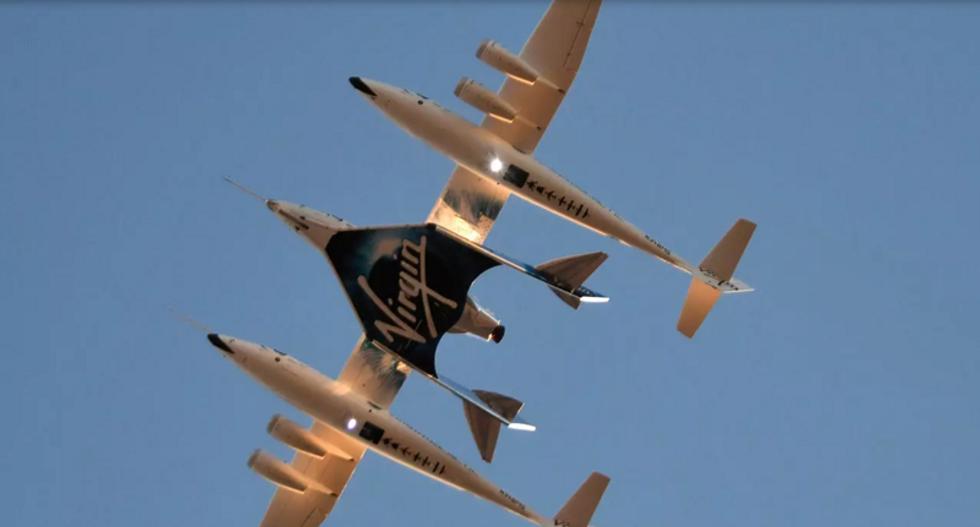 Virgin Galactic spacecraft forced to abort test flight