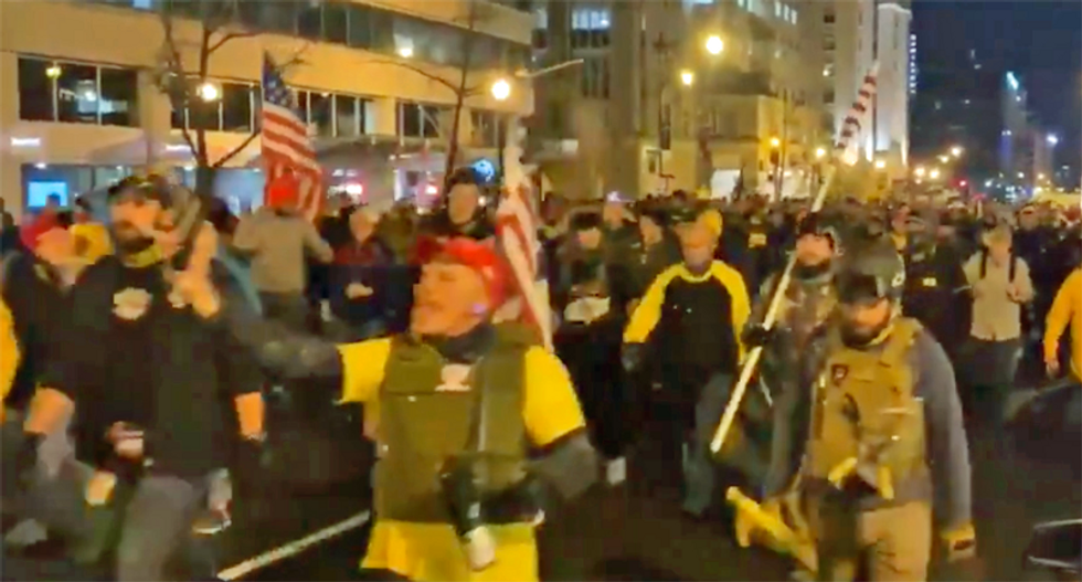 Proud Boys descend upon DC as Trump refuses to concede the 2020 election