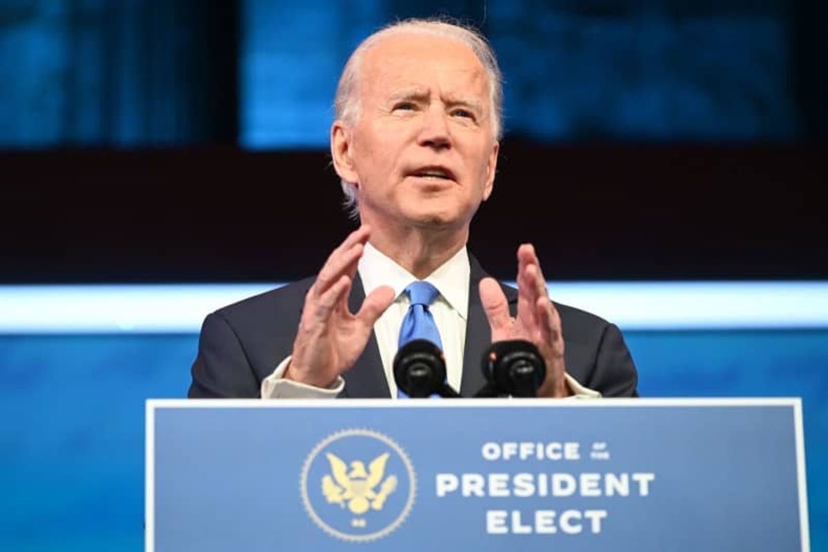 Joe Biden made a surprising shift to the left -- but it has gone mostly unnoticed