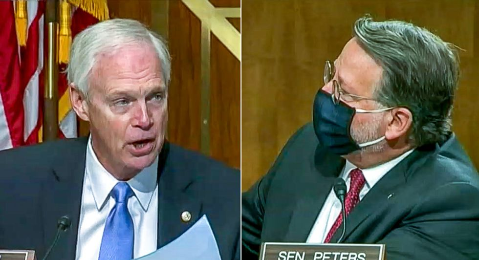 'You lied repeatedly!' Ron Johnson's sham election hearing goes off the rails as shouting match breaks out