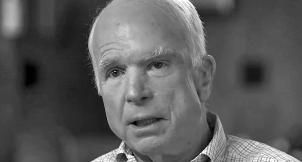 Trump argues deceased war hero John McCain was 'overrated' during late night Twitter rant